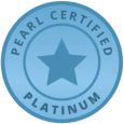 Marketing - Pearl Cert Platinum Badge