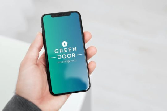Marketing -  Green Door App Image