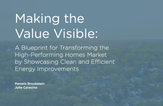 Making Value Visible Cover Report