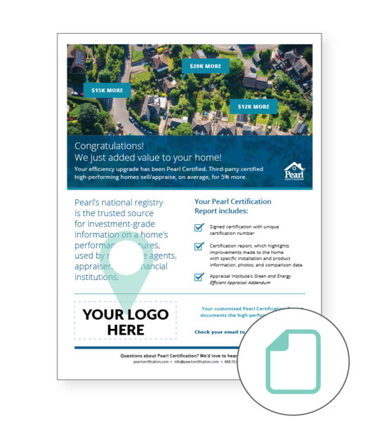Marketing Leave Behind Flyer
