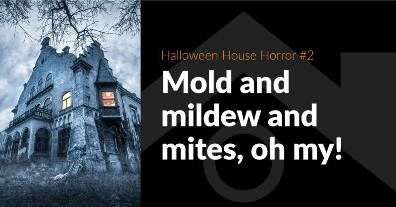 House-Haunting Horror #2: Mold, Mildew and Mites - FB